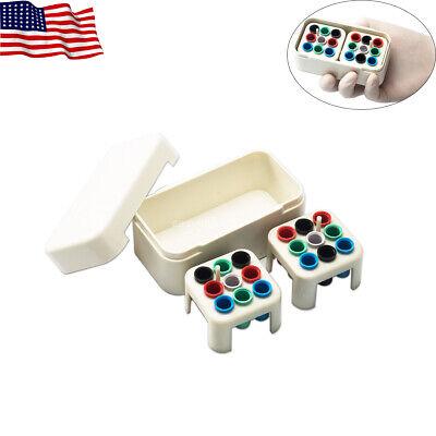 Easyinsmile Endodontic Organizers Sterilizer Case Dental Files Bur Autoclave Box