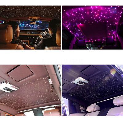 16W RGBW LED Fiber Optics Star Ceiling Light Kit 335 Strands 4M 0.75mm+ Crystal](Fiber Optics Led)