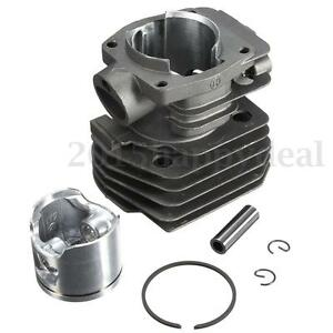 For 44mm Dia Chainsaw Parts Motor Cylinder Piston Husqvarna 350 346 351 353 Kit