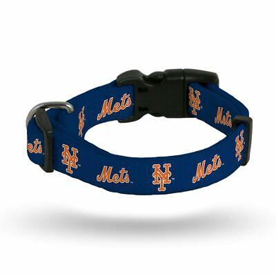 New York NY Mets MLB  Nylon Pet Dog Collar