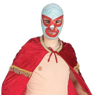 Nacho Libre Costume Mask Adult Mens Wrestling Professional Wrestler Luchador