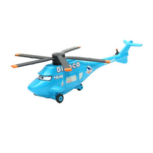 Mattel Disney Pixar Cars Diecast Dinoco Helicopter Metal Toy Planes Loose New