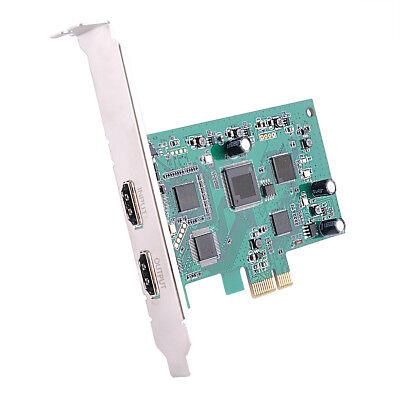 (PCIE Video Capture Card HDMI 4K 30P Input HD Video Recorder HDMI Out Live Stream)