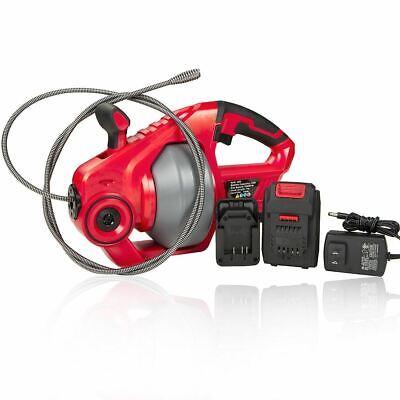 Battery Powered Cordless Drain Cleaner Snake Power Auger