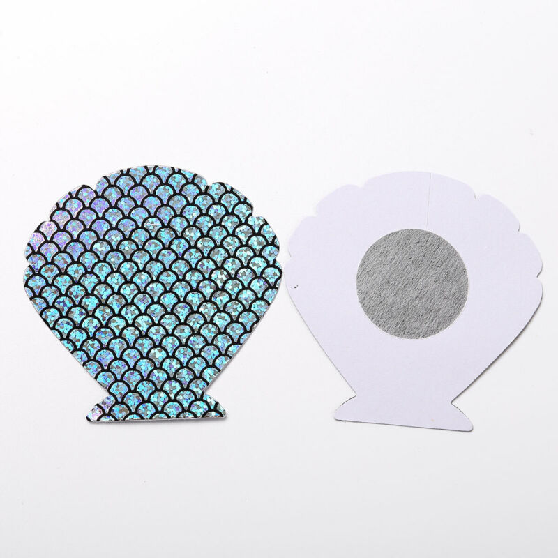 10Shaped Adhesive Everyday Breast Nipple Cover Sticker Bra Pad Patch Disposable