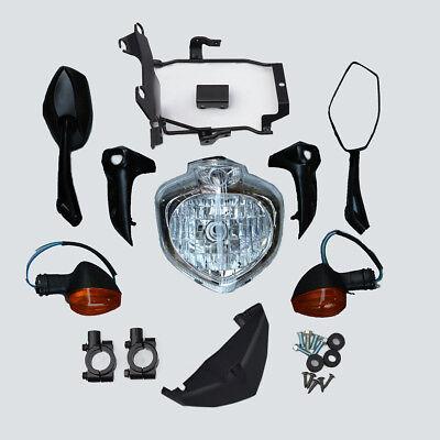 Headlight+Bracket+Mirrors+Indicator Set Fit For Yamaha FZ6S FZ6N Fazer 2007-2010