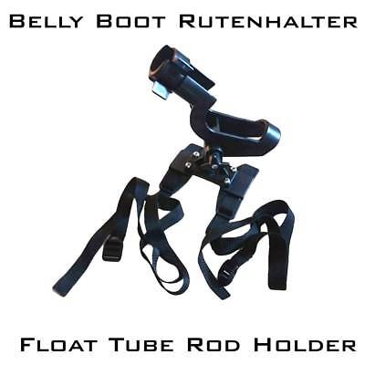 > Belly Boot Rutenhalter , Float Tube Rod Holder , Belly Boat Rod Holder