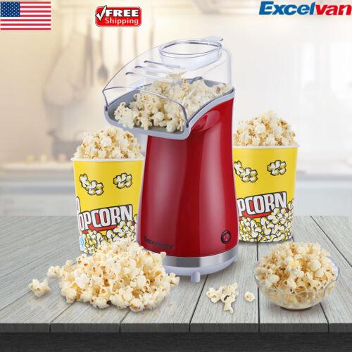Hot Air Popper Popcorn Maker 1200W Electric Popcorn Making M