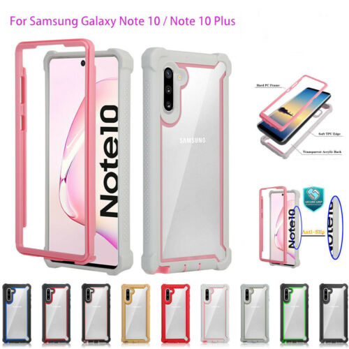 For Samsung Galaxy Note 10 Plus Protective Hybrid Rugged Hea