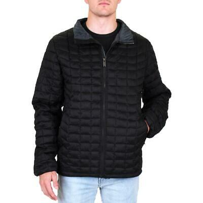 Ben Sherman Mens Black Winter Warm Packable Puffer Coat Oute