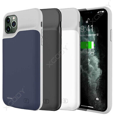 External 6000mAh Battery Charger Case For iPhone 11 Pro Max Charging Power Cover