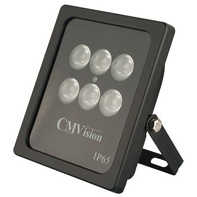 CMVISION IRP6-940NM INVISIBLE WIDEANGLE 6PC HIGH POWER LED IR ARRAY ILLUMINATOR