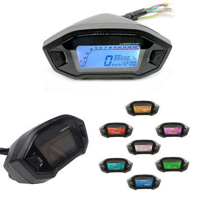 7COLORS LCD DIGITAL SPEEDOMETER ODOMETER COMPUTER ODOMETERSPEED SENSO