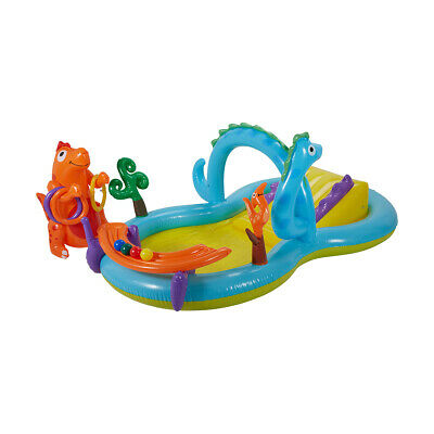 Inflatable Animal Adventures Pool Baby Kids Toddler Swimming Pool Beach Toy R1..