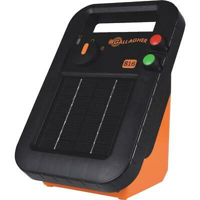 Gallagher S16 30-acre Solar Electric Fence Charger G341414 - 1 Each