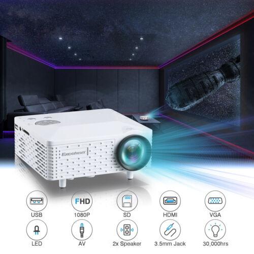 BL-18 Portable Full HD 1080P LED HDMI Projector Cinema