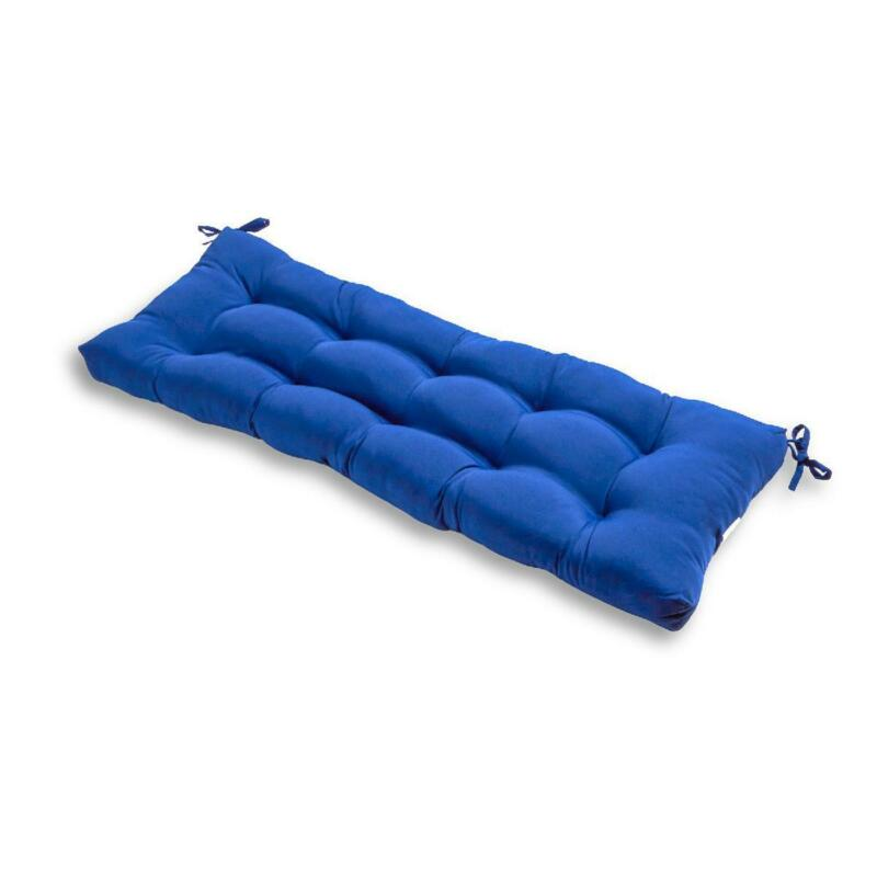 Outdoor Bench Cushion Various Solid Colors 51 x 18 in. Garde