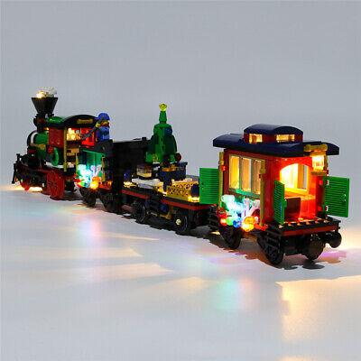 LED Lighting Kit ONLY For LEGO 10254 Christmas Winter Holiday Train Bricks