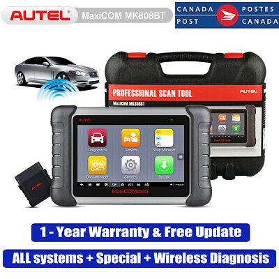 Autel MaxiCOM MK808BT OBD2 Code Reader Tablet Diagnostic Scanner Automotive Tool