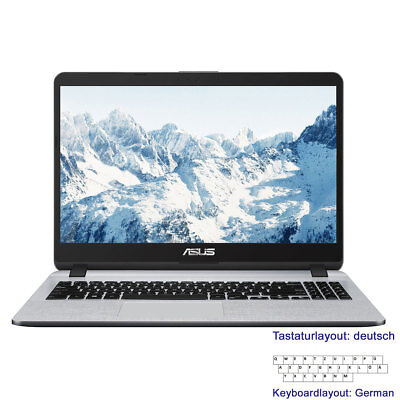 "Notebook 15,6"" ASUS F507 Intel 4Core@<2,7GHz 4GB 256GB SSD+1TB HDD Full-HD Win10"