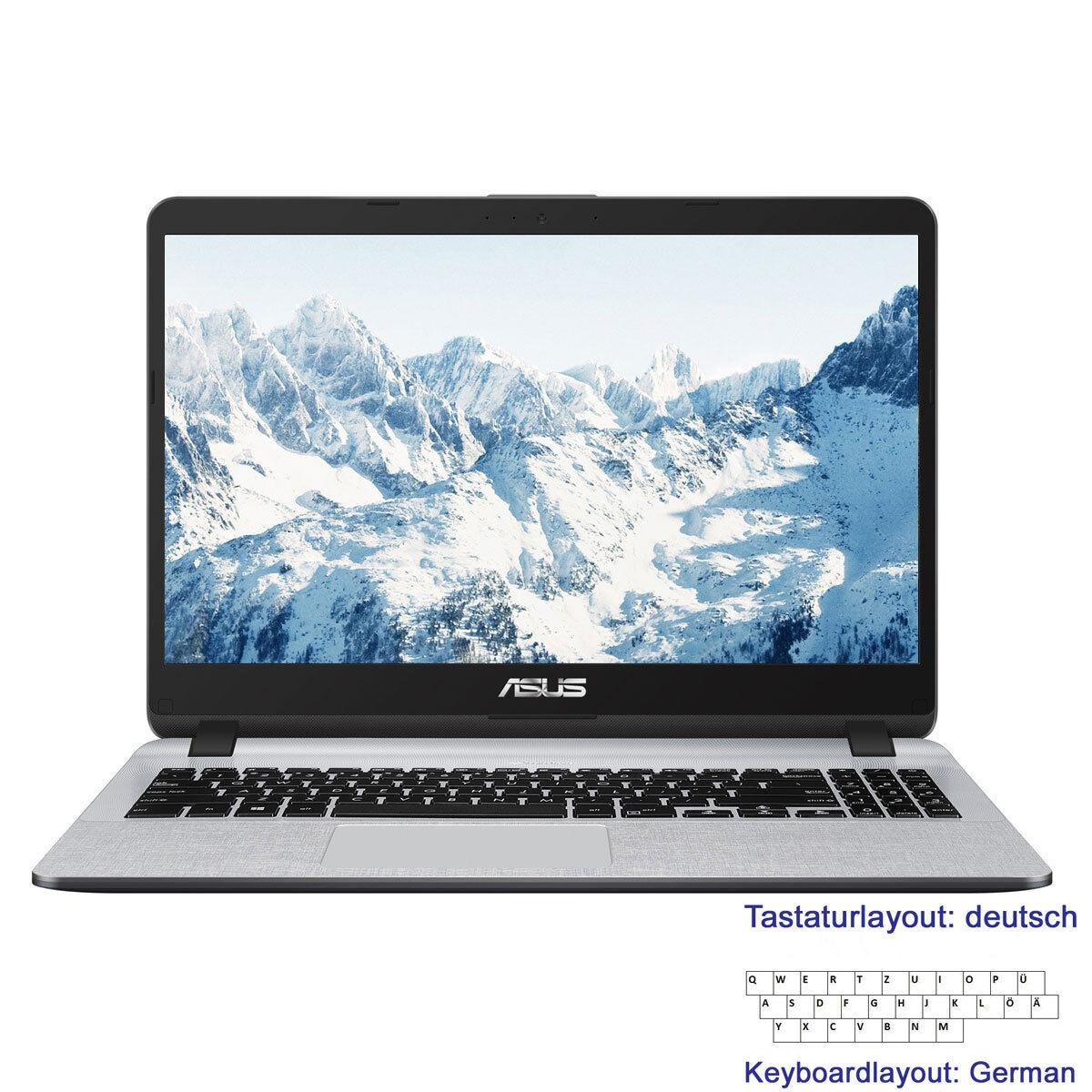 """Notebook 15,6"""" ASUS F507 Intel 4Core@<2,7GHz 4GB 256GB SSD+1TB HDD Full-HD Win10"""