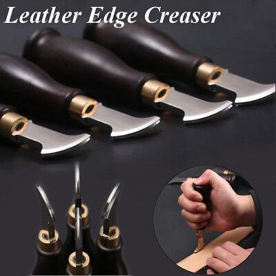 Leather Edge Creaser Stainless Steel Edge Sector Marking DIY Decorate Tool - Diy Leis