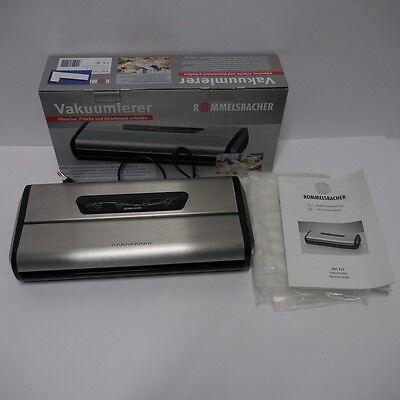 Rommelsbacher Vakuumierer Folienschweißgerät VAC 125 Aussteller