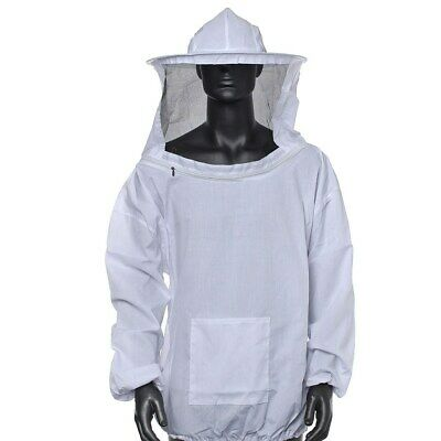 Beekeeping Equipment Jacket Veil Bee Keeping Cotton Suit Hat Pull Over Smock