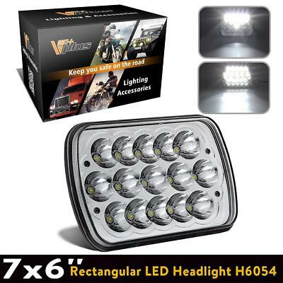 "1pc Headlight Replace for Cherokee 98 Sealed Beam 7x6"" LED Cree Bulb"