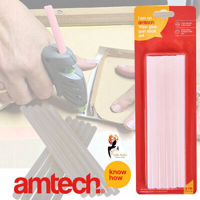 10 Pcs Glue Gun Adhesive Stick Set 11mm x 200mm Multi Colour By Am-Tech J1932 Adhesive Tech Glue Stick