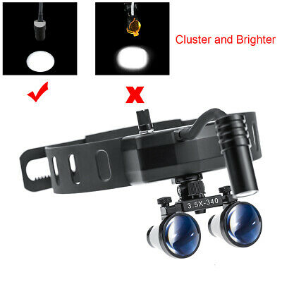 3.5x420mm Dental Loupes With 5w High Brightness Led Headlight Lamp Dy-005 Ent
