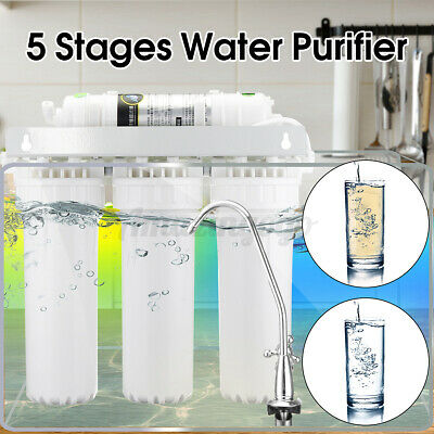 5 Stage Drinking Water Filter Purifier Ultra-filtration Hollow Home Fiber System