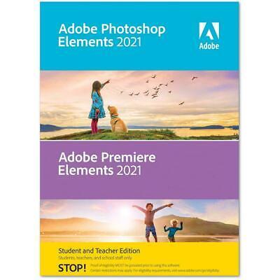 Photoshop Elements 2021 Premiere Elements 2021 Student Teacher Edition