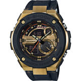 Casio G-Steel Men's GST200CP-9A Super Illuminator World Time Gold Tone Watch