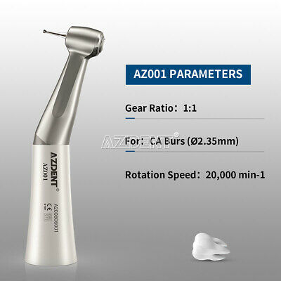 NSK Style Dental Slow Low Speed Handpiece Contra Angle Push Button FDA&CE