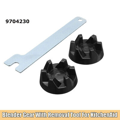 2PCS Rubber Coupler with Removal Tool Replacement For Blender KitchenAid 9704230