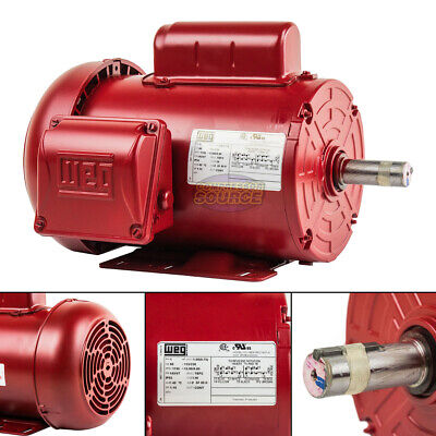 Business & Industrial Baldor AC Electric Motor M3157T-8 2HP 200VAC ...