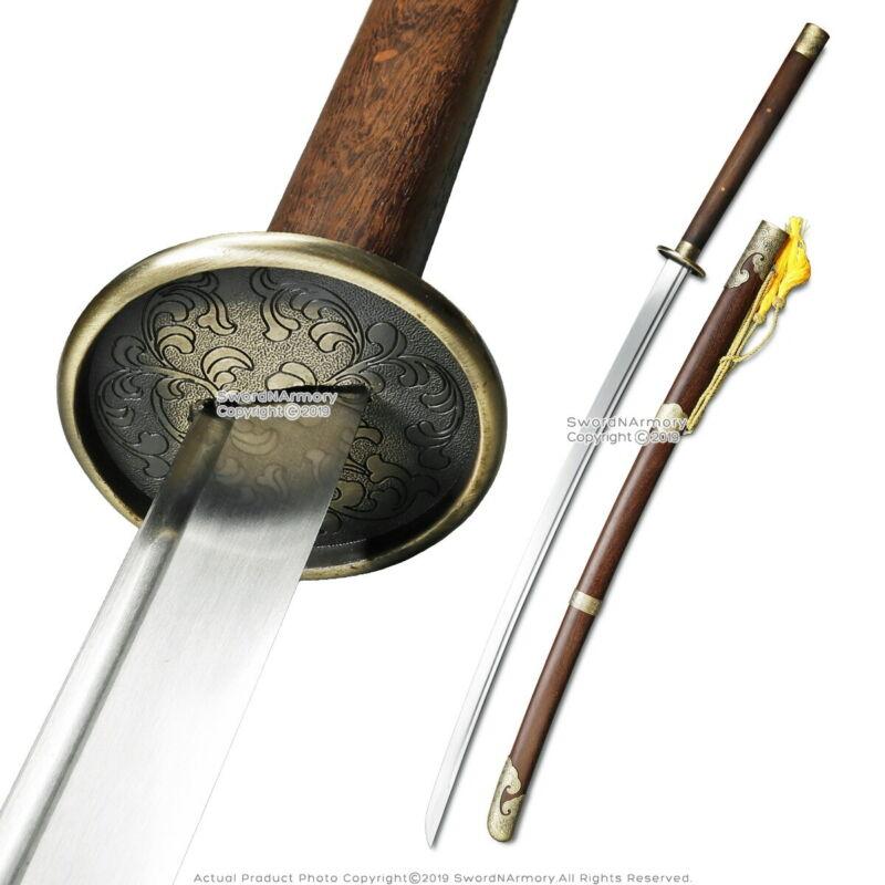 "55"" Functional Handmade Miao Dao Chinese Long Saber Sword Sharp Blade"