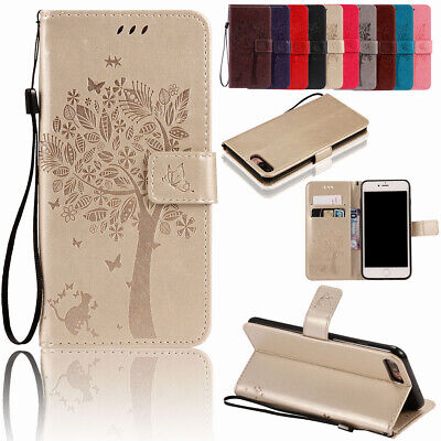 For iPhone Xs Max  X 8 7 6 5s Luxury Leather Magnet Flip Wallet Stand Case Cover