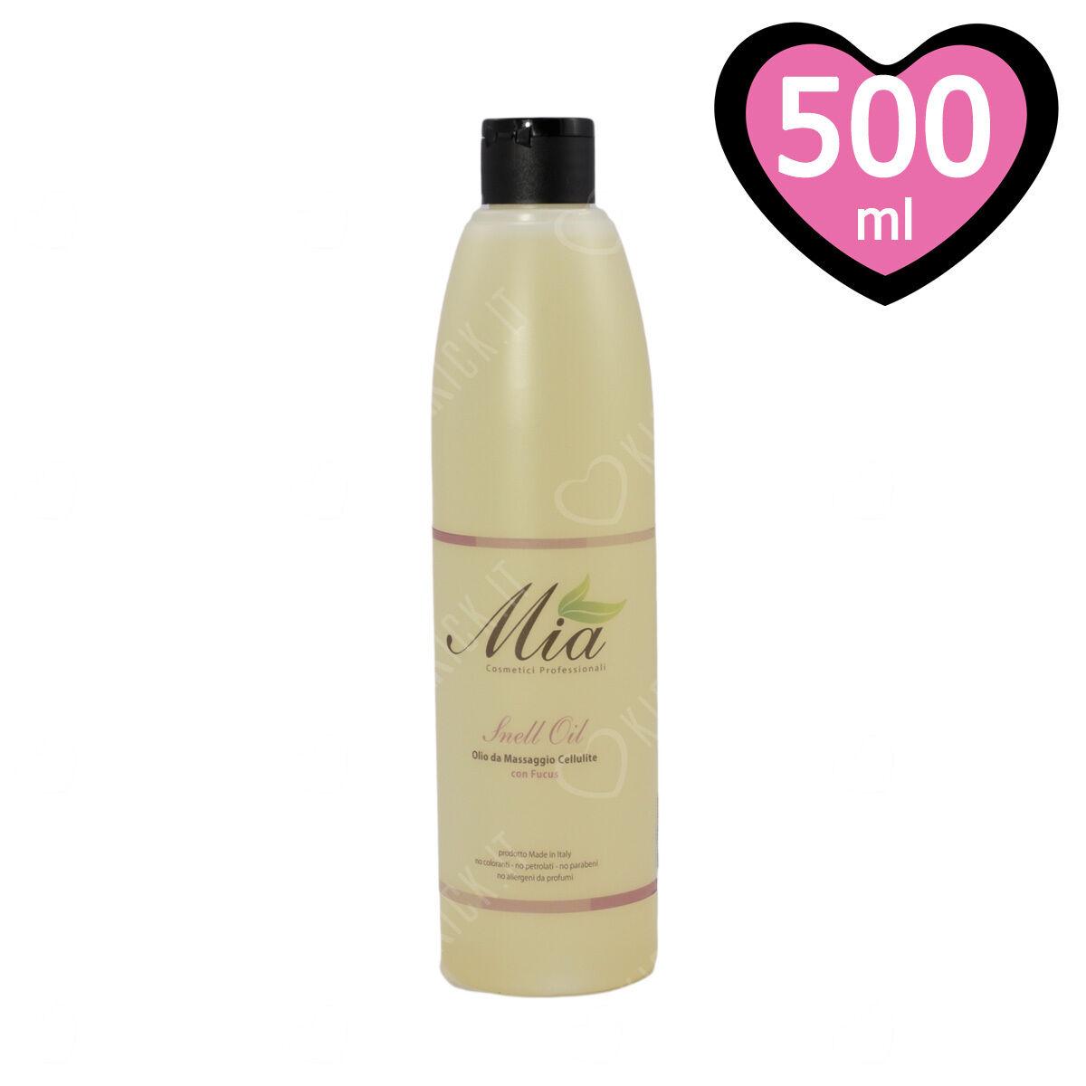 Olio da Massaggio per Cellulite e Ritenzione Idrica 500 ml