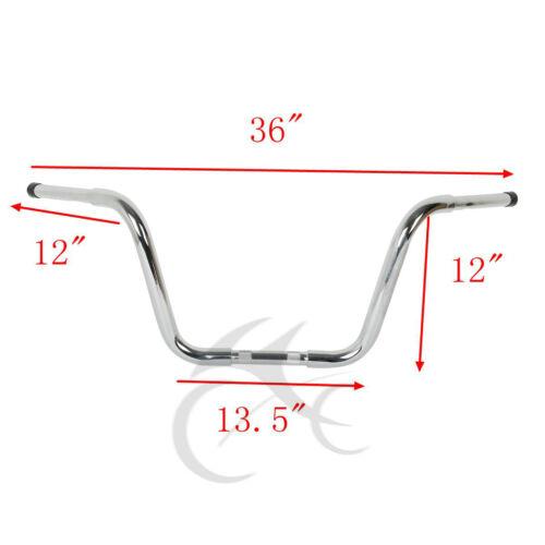 Chrome Ape Hanger Bar 1 1/4