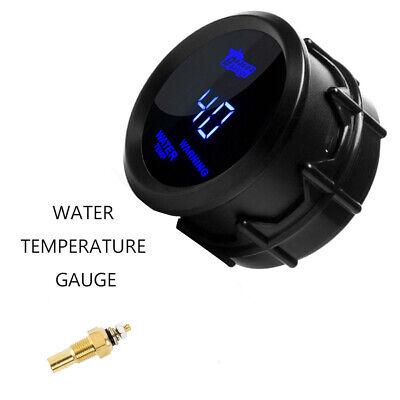 2 Inch Water Temp Gauge Blue Digital LED Temperature Car Universal Auto Meter UK