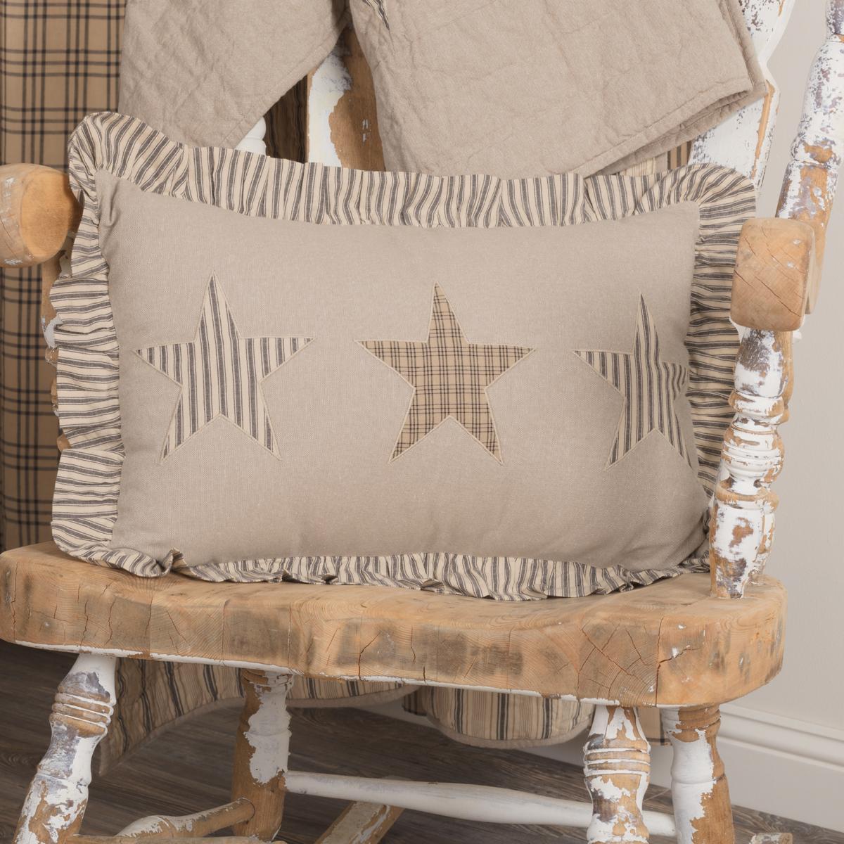 SAWYER MILL STAR FARMHOUSE accent throw pillow Farm Style 14