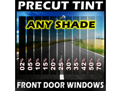PreCut Film Front Door Windows Any Tint Shade VLT for Chevy Trucks Glass