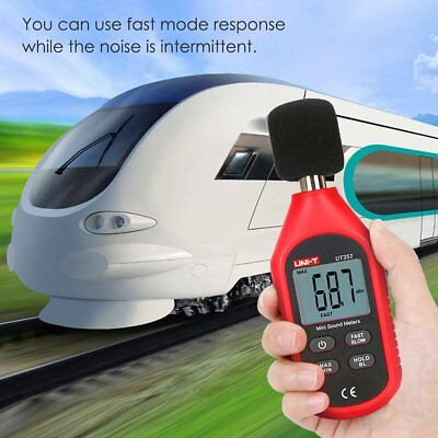 Mini Digital Sound Level Meter Noise Decibel Tester 30-130db Measure Reader