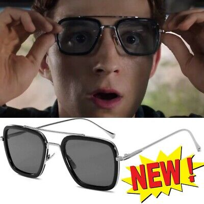 Hot sunglasses Peter Parker Spiderman Far From Home Iron-Man Glasses Movie 2019  - Costume From Movies