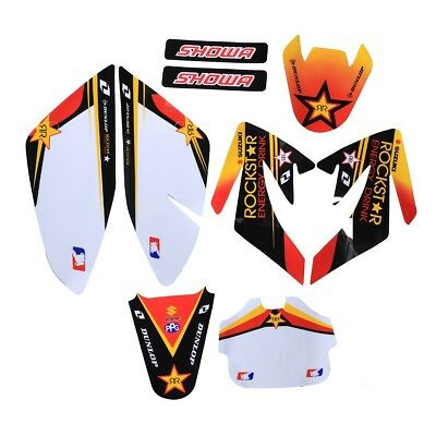 (GRAPHICS DECAL STICKERS Kit HONDA CRF70 SDG SSR 107 110 125 Dirt Bike Chinese)