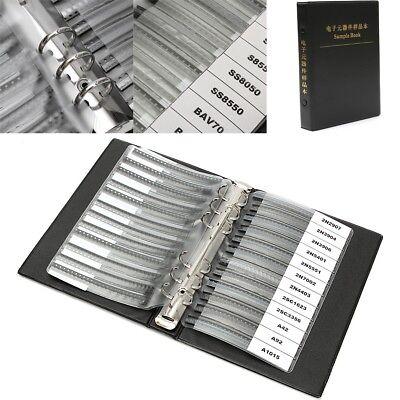 900pcs 36 Values X25 Smd Chip Transistor Assorted Sample Book Assortment Kit