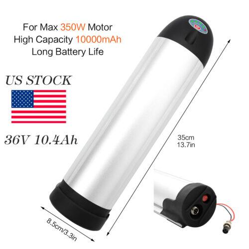 10AH 36V Bottle Lithium Battery + Charger Li-ion For  Electr