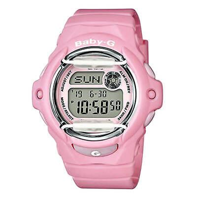Casio BG169R-4C Women's Baby-G World Time Pink Resin Strap Watch